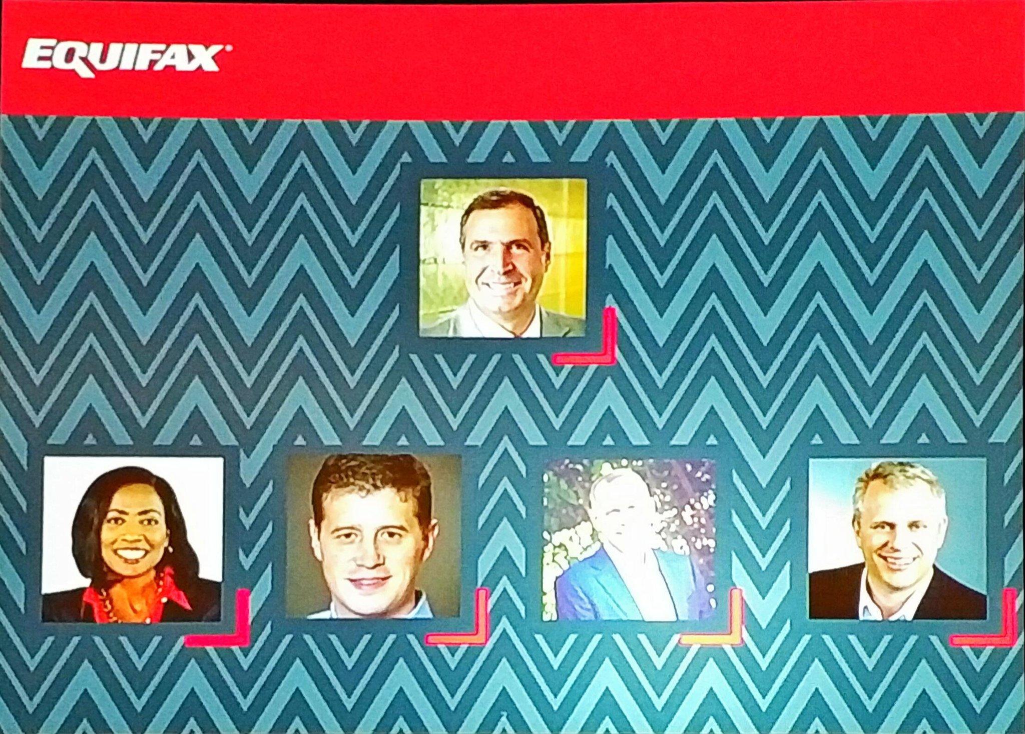 Looking @EquifaxInsights Leadership Team #EFXForum17 https://t.co/v0xpAIa2qW