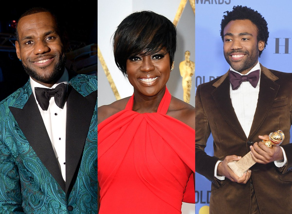 .@ViolaDavis, @DonaldGlover and @KingJames are some of TIME's 100 Most...