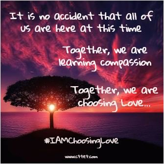 WE are learning to love together....Thank you #joytrain #IAMChoosingLove #IDWP https://t.co/PjD6C22Hn6