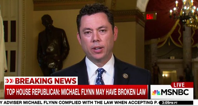 'Not Trump's fault': House oversight chair Chaffetz blames Obama administration for failing to vet Flynn https://t.co/DSNp2eeX8h