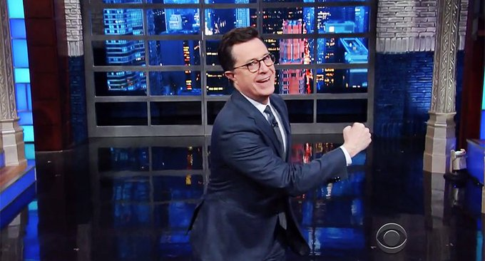 'First time anyone has rejected Justin Trudeau's wood': Colbert needles Trump's Canadian lumber tariff https://t.co/7pEwalv5u3