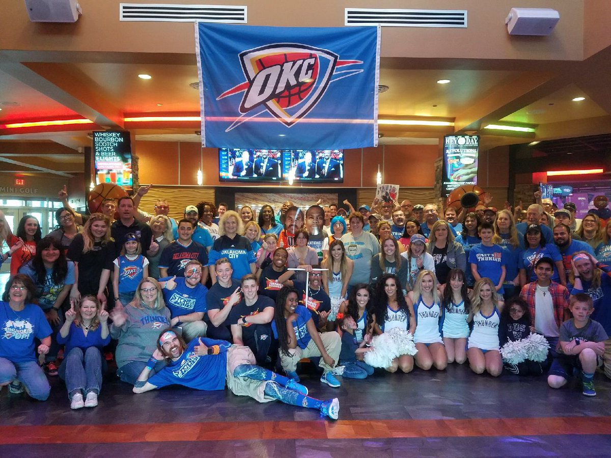 Image result for okc thunder watch party