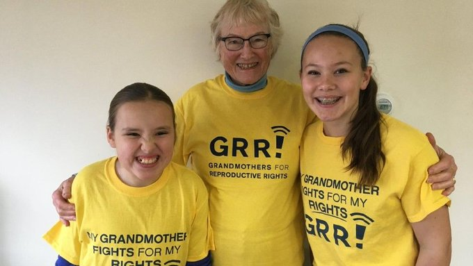 'Grandmothers for Reproductive Rights' is the advocacy group you need to know about right now: https://t.co/AxPT8vvJDq