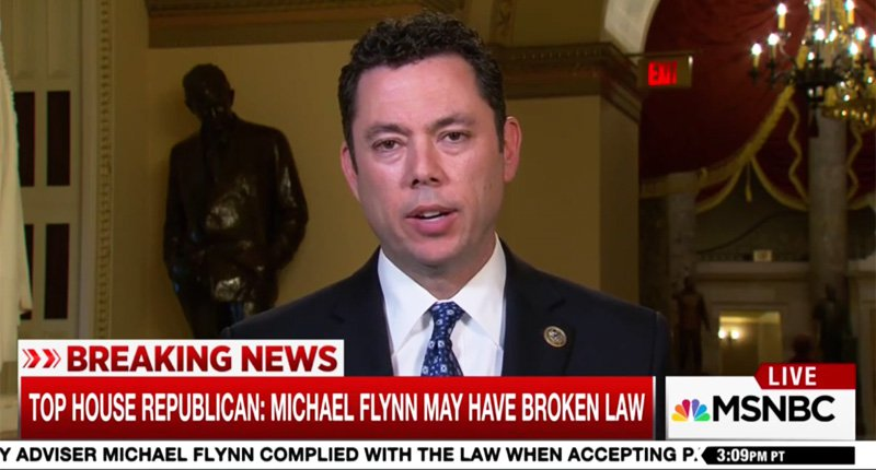'Not Trump's fault': House oversight chair Chaffetz blames Obama adminstration for failing to vet Flynn https://t.co/DSNp2eeX8h
