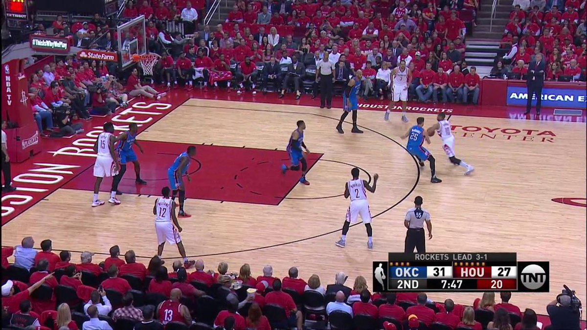 Eric Gordon To The Rack! 💪 #NBAPlayoffs https://t.co/RoZFeI8eNO