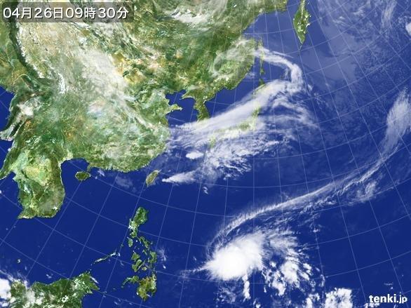 台風第1号が発生しました(気象庁予報部)