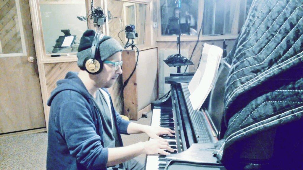 Recording today at Tedesco studios with Gene Jackson