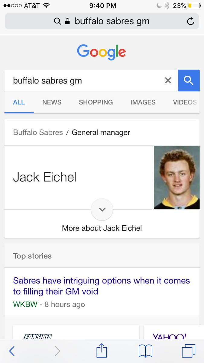 @BComptonNHL @Prospects_Watch @StapeNewsday @ConIsles type in buffalo...