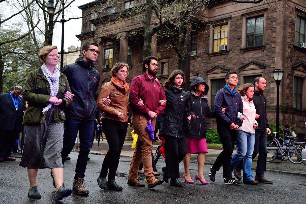 Yale Grad Students Go On Symbolic Hunger Strike
