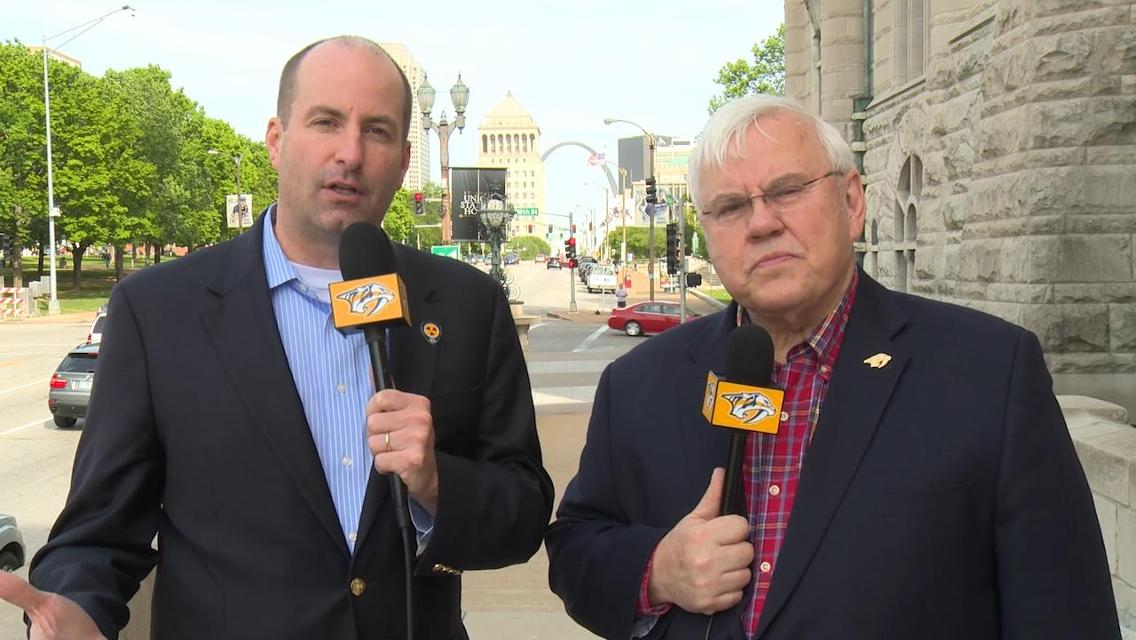 Preds All-Access: Division rivals meet for first time in playoffs http...