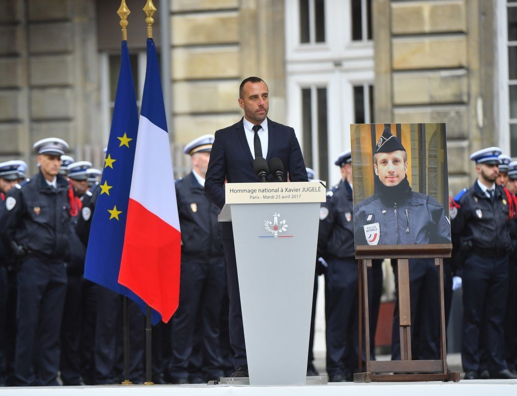 The Partner Of The Police Officer Killed On The Champs-Élysées Gave An...