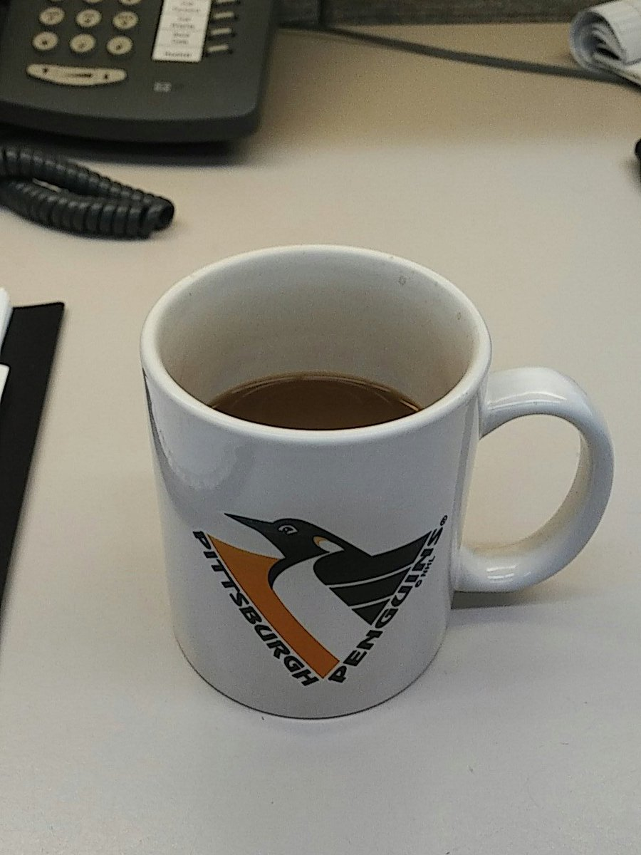 @BillysManCave I have a Penguins coffee mug. But that's about it. http...