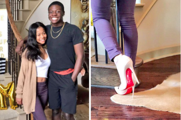 People have a lot of feelings about this promposal featuring Louboutins https://t.co/p6194UjN4p