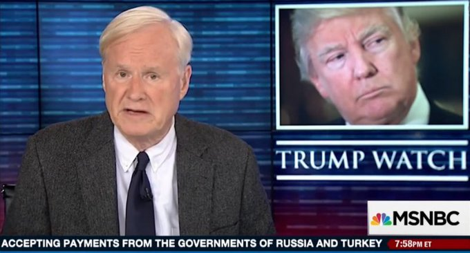 'This country cannot survive with a failure at the top': Chris Matthews explodes at 'pure evil' Donald Trump https://t.co/ZQkF0KBoNG