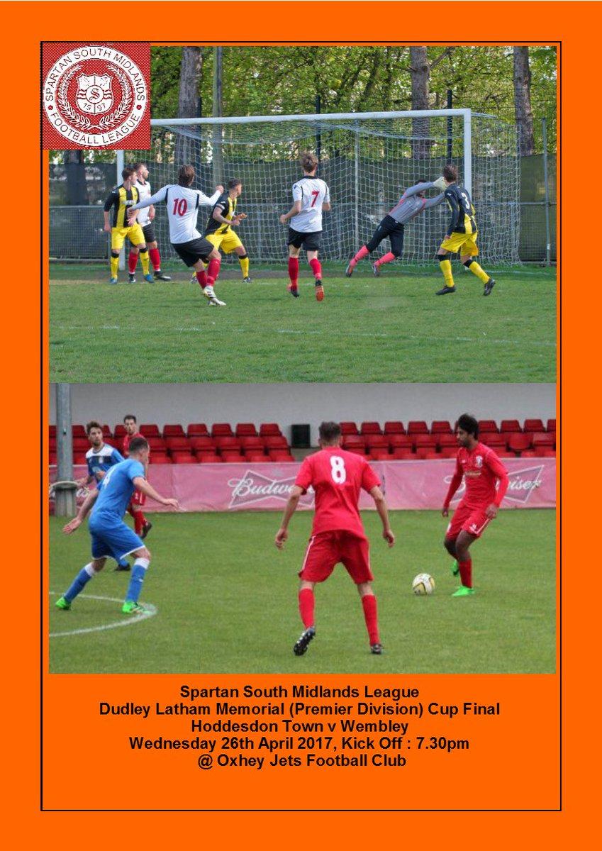 Tonight's SSML Dudley Latham Memorial Cup Final programme now at the printers @HoddesdonTownFC @WembleyFC @1972Jets https://t.co/NKGOGvQmvz