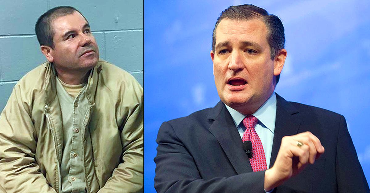 Ted Cruz Reveals Plan To Make Cartel Boss \