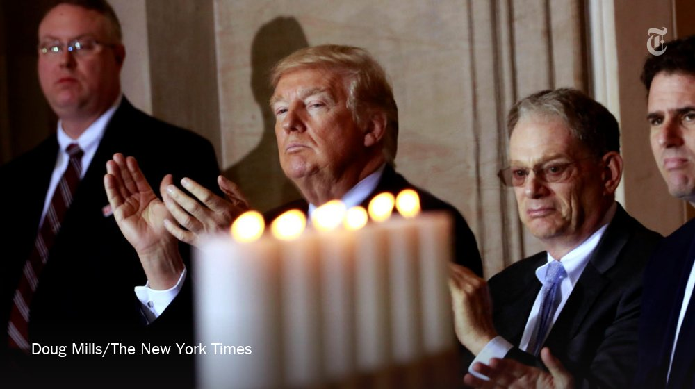 Trump appears to be trying to reset his relationship with the Jewish community after a series of controversies https://t.co/En9z4kekJr