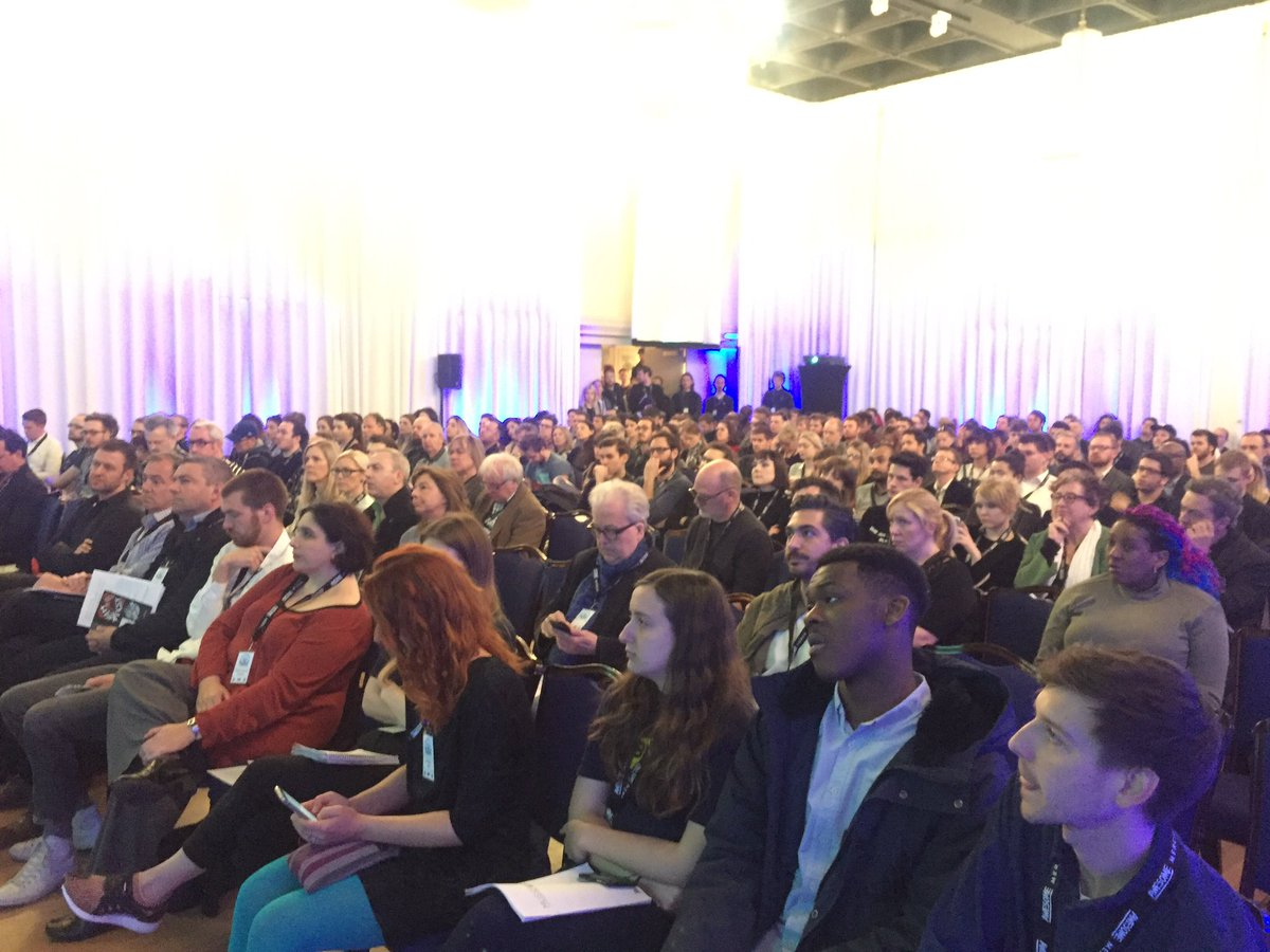 Packed hall at #MusicConnected for the welcome keynote from sponsors @ci_indie #digitalmusic <br>http://pic.twitter.com/dTNgIOAu6F
