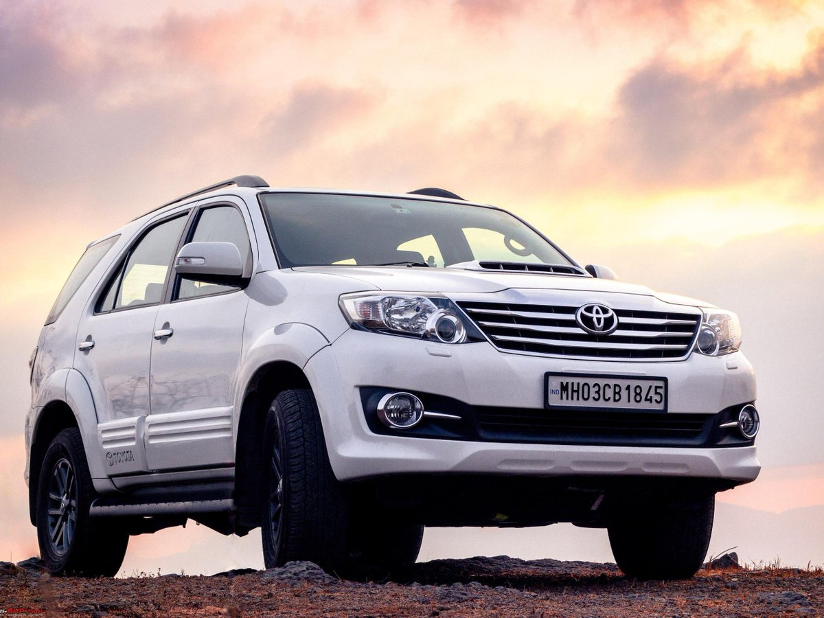 One year with the toyota fortuner 4x4 at my furteela ghonga team bhp
