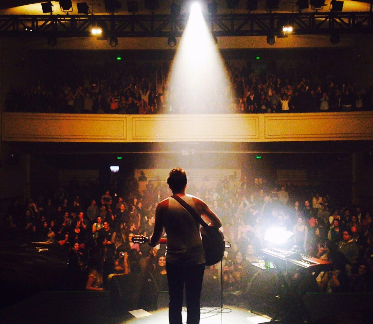Tuesday 25 April 2017. @Teatro_NESCAFE Santiago, Chile ...