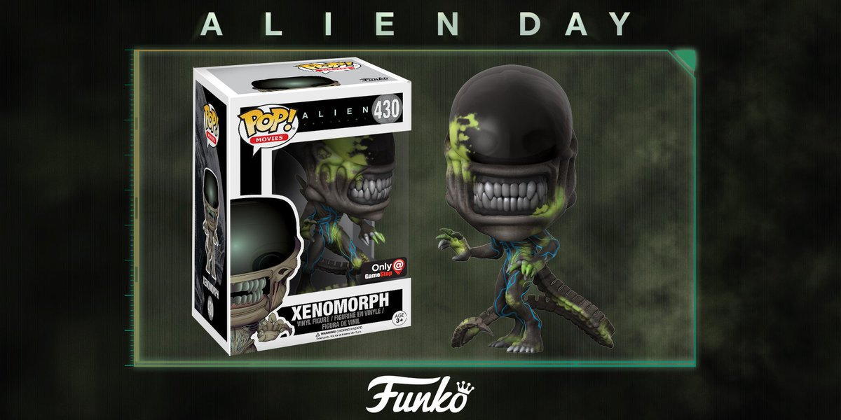 An exclusive strain of Xenomorph @OriginalFunko Pop is arriving at @Ga...