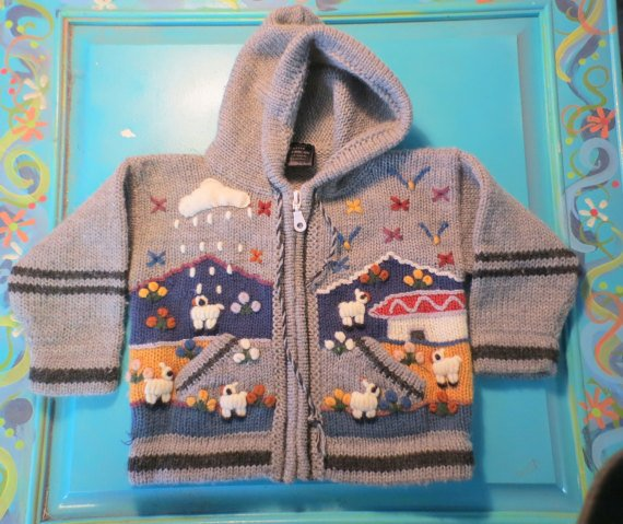 Vintage Child&#39;s Otavalo #NativeAmerican #sweater by Glances Back Vintage @McClainDebby. #jacket #vintage  http:// etsy.me/2ktQTXL  &nbsp;   via @Etsy<br>http://pic.twitter.com/goVqJOfHDw