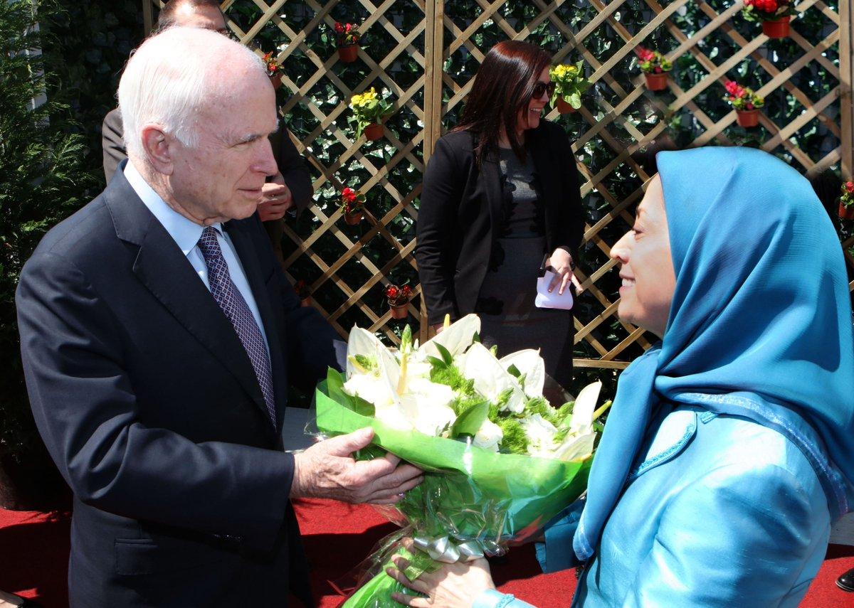 Sen. McCain calls for Iranian regime change, Trump administration ups rhetoric  http:// goo.gl/fW5WRt  &nbsp;   #Helsinki #Paris #Dushanbe<br>http://pic.twitter.com/8PhjlVN5ik