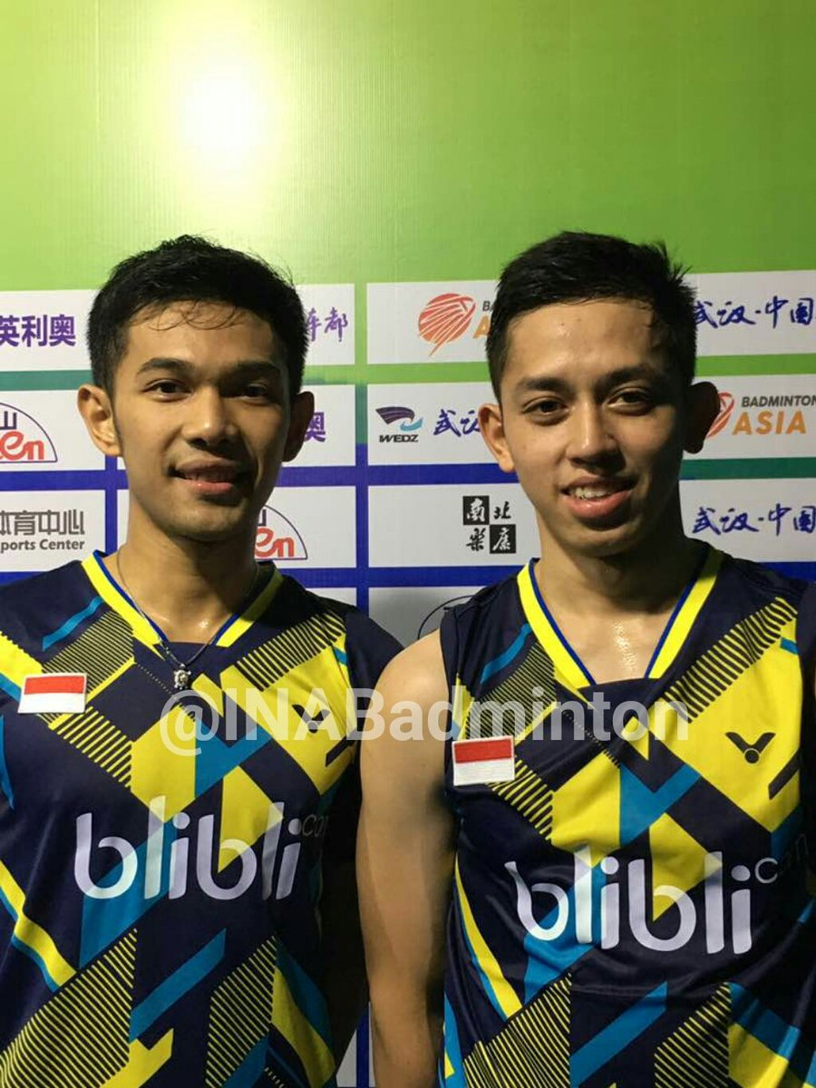 "BADMINTON INDONESIA on Twitter "" Result MD R1 BAC2017 Fajar"