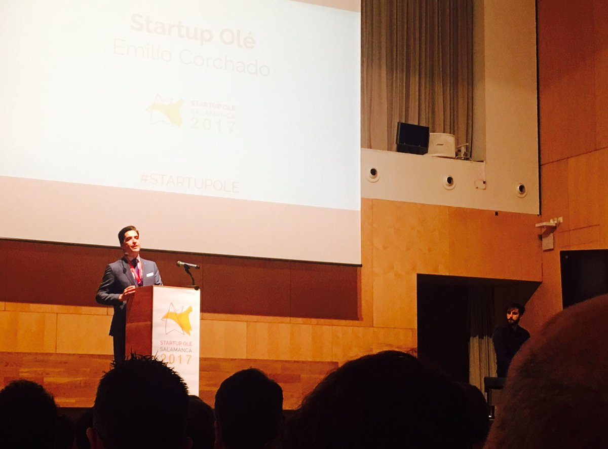 Wellcome to @StartupOle  Wellcome to the city of talent #Salamanca by @escorchado11<br>http://pic.twitter.com/lj220HgblT