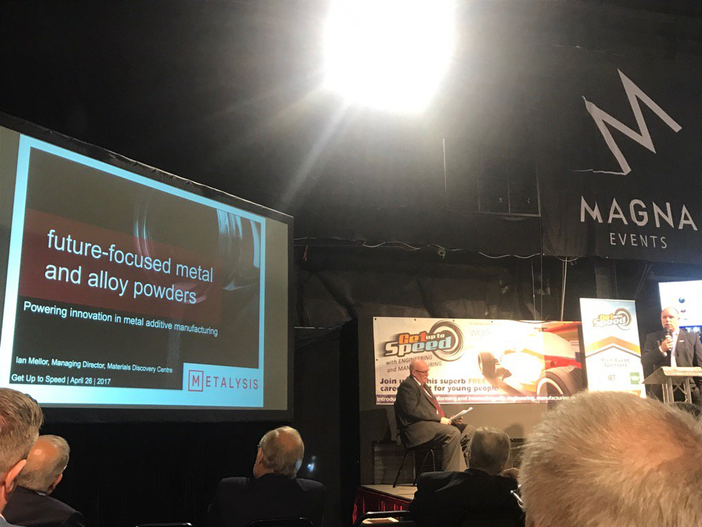 Our MD Ian Mellor is presenting @GUTS_Sheffield Business Breakfast #sheffieldissuper #STEM #3Dprinting <br>http://pic.twitter.com/SRYT5U4MFG