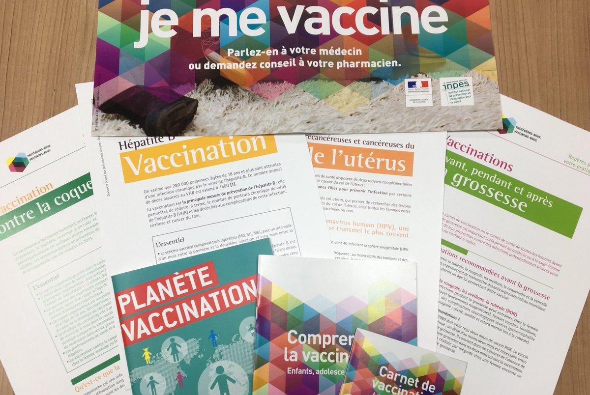 [semaine européenne de la #vaccination ] Nous disposons d'un large choix de documentations  #dépliants #affiches #infos contactez nous  pic.twitter.com/u6Ww4Bi1im
