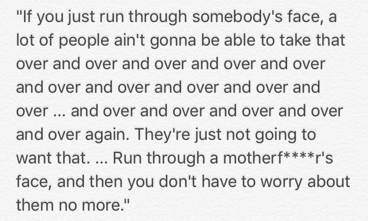 Marshawn Lynch with possibly the greatest quote of my generation: http...