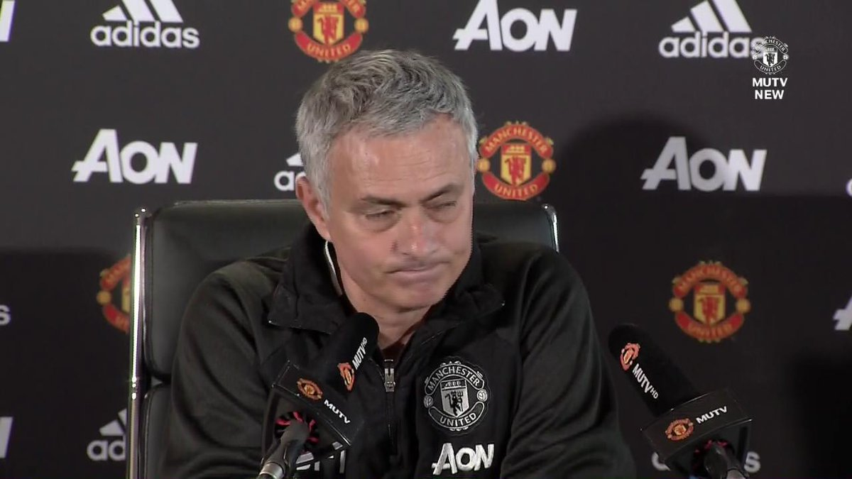 'He's not going to give up and he's going to fight.'  Jose Mourinho on...