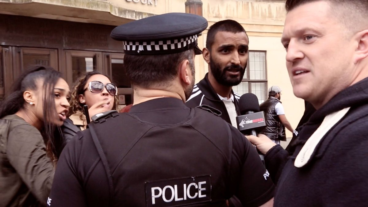 NEW: @TRobinsonNewEra confronts another accused #UK #Muslim rape gang     #tcot #maga