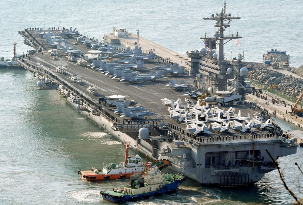 Trump's 'armada' can't shoot down Kim Jong-un's ballistic missiles https://t.co/DW9b4uhW6W