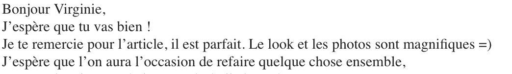 Quand il y a des marques juste incroyables qui te font confiance et te poussent à continuer #gaga #blogueusecontentepic.twitter.com/7CQ3iwfDAg