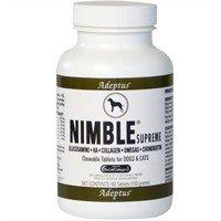 Adeptus Nimble Supreme for Pets (60 tablets)   #petsupplies