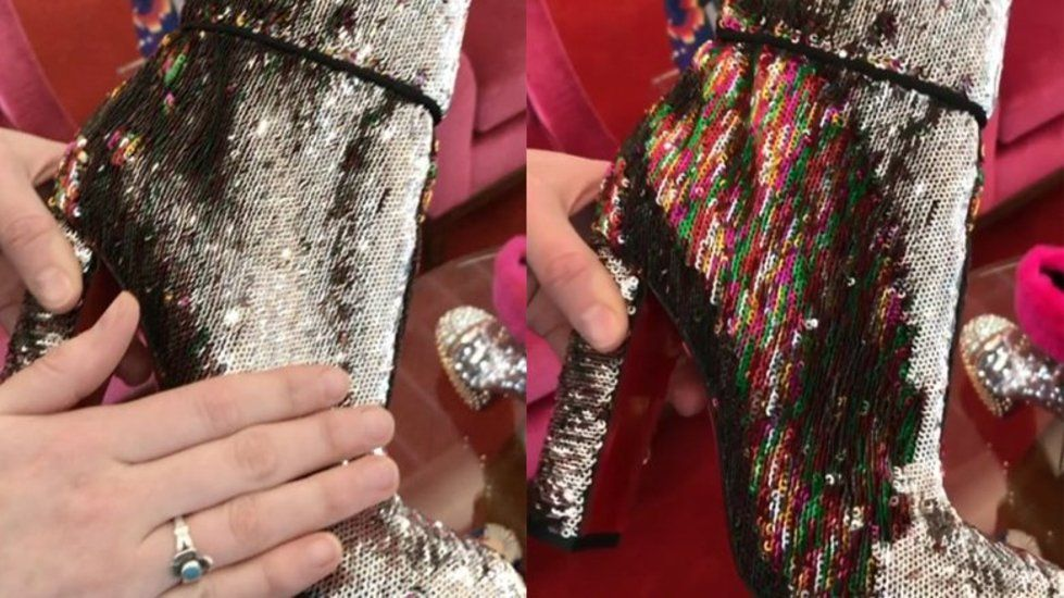 Behold Christian Louboutin's magical colour-changing unicorn boots https://t.co/qYVLBESrph