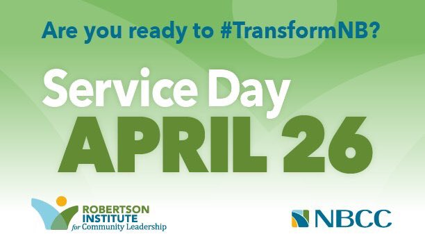 Today is our 5th #transformNB Service Day! Check out @TransformNB for more. https://t.co/NrOtLjyrg0