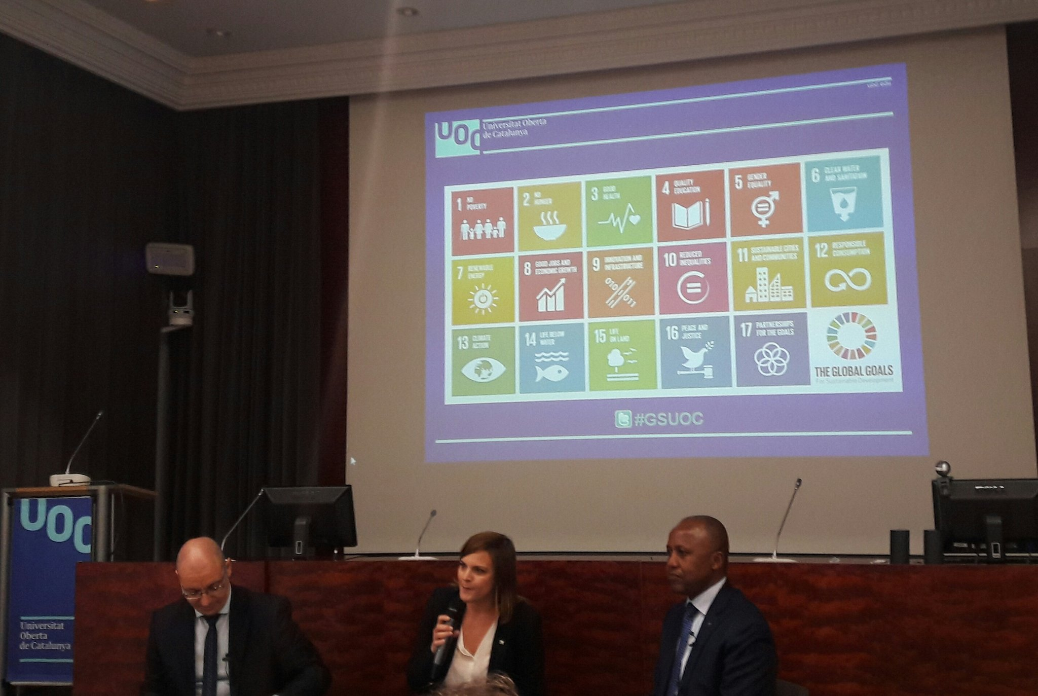 """Thumbnail for Talk: """"How the UOC can contribute to the aims of Agenda 2030"""""""