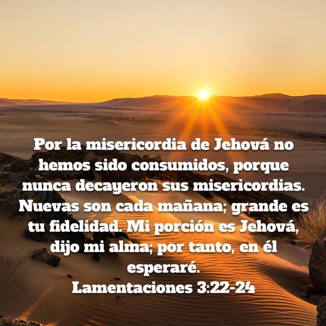 Miguel Susana On Twitter Por La Misericordia De Jehová No Hemos