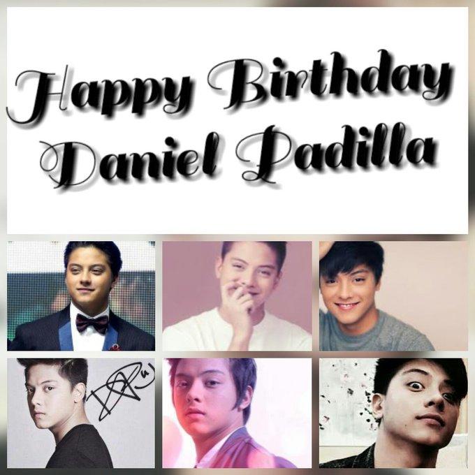 Happy birthday Kuya Daniel Padilla....