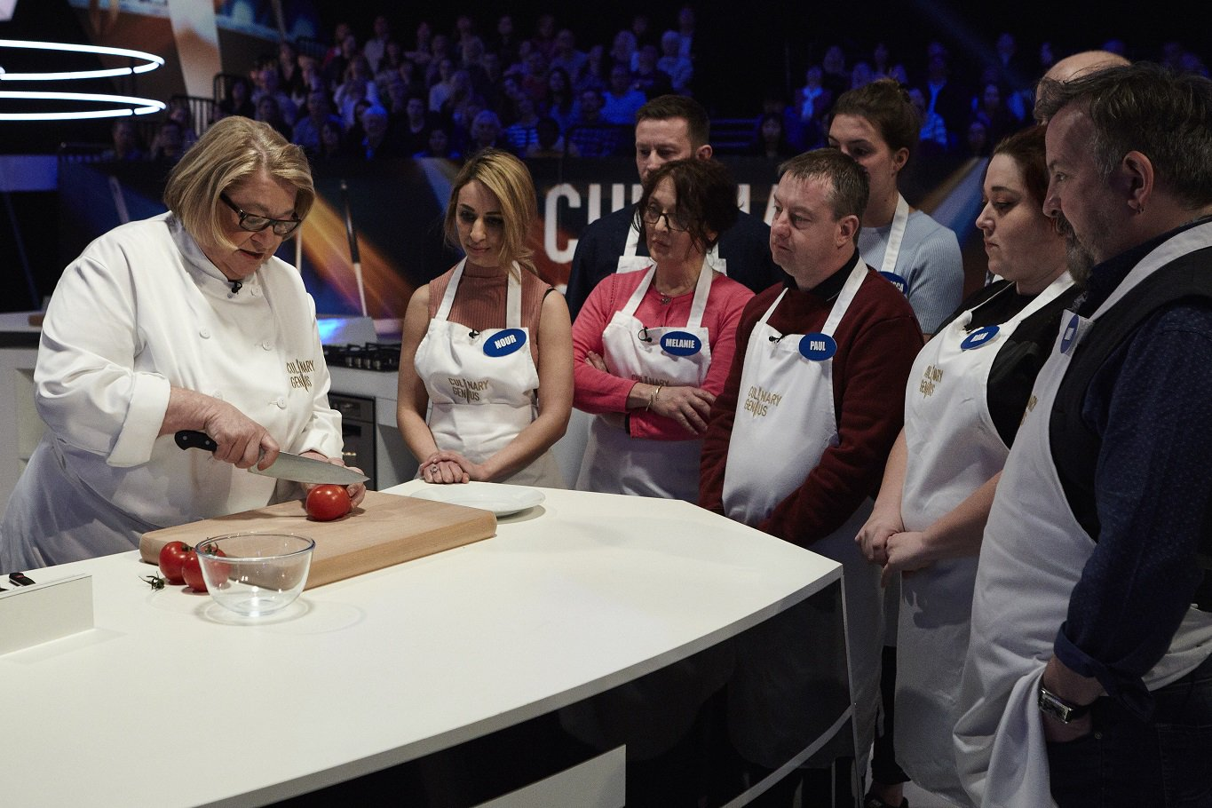Time for another episode of #CulinaryGenius on @ITV at 3 PM today with this week's host @RosemaryShrager ! https://t.co/MwHqClZmaO