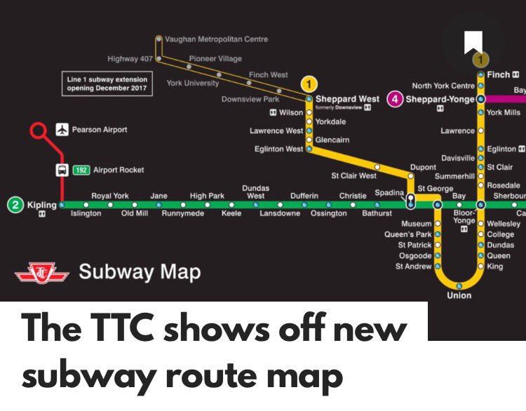 Vaughan Fire on Twitter We are on the map TTC shows off their new