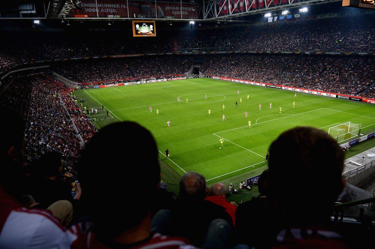 Ajax are unbeaten in 12 European home games (W7 D5) 🏟️💪 https://t.co/h...