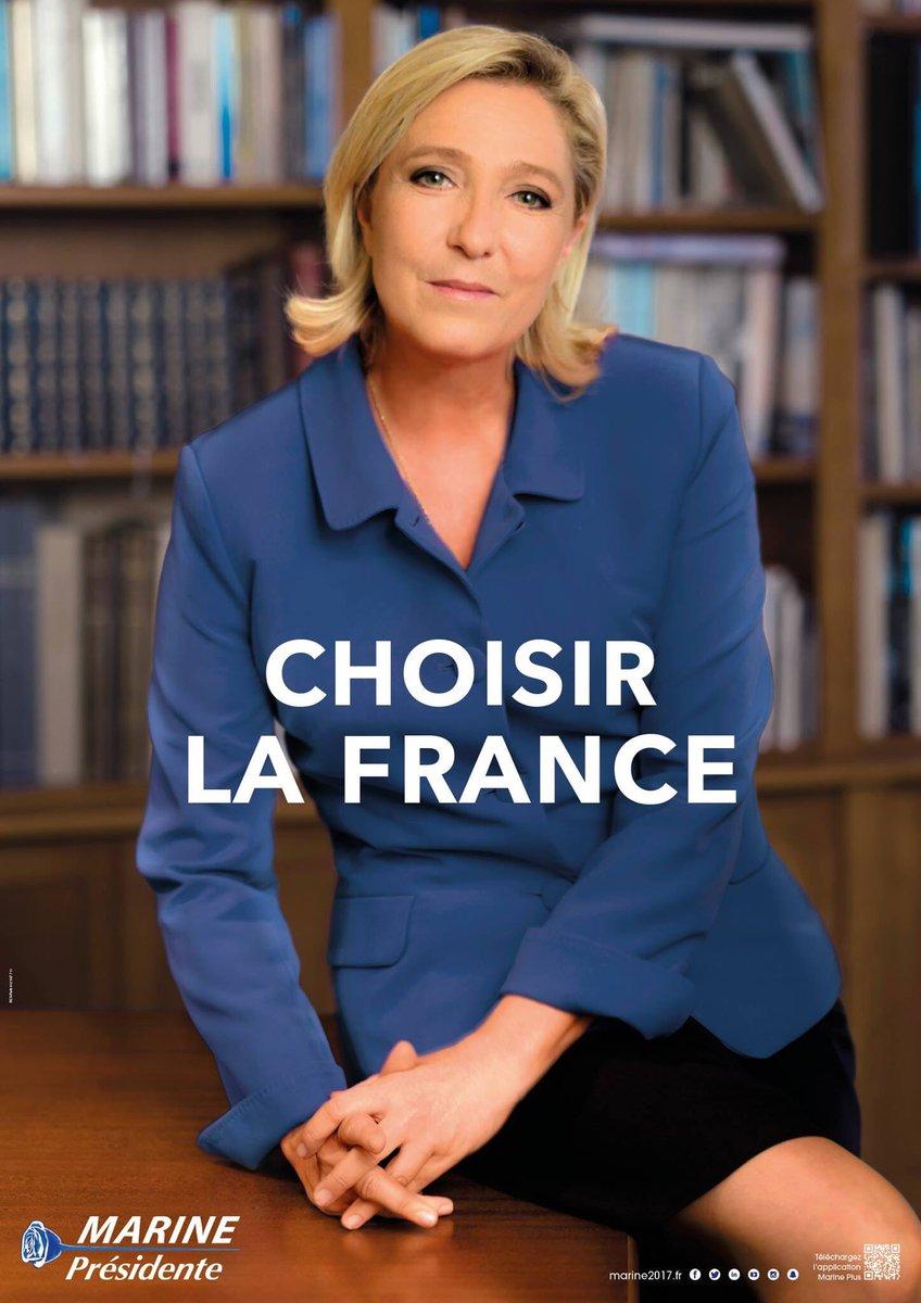 'Choisir la France' en votant Marine dans 11 jours ! 🇫🇷 #AuNomDuPeuple #Marine2017 @MLP_officiel