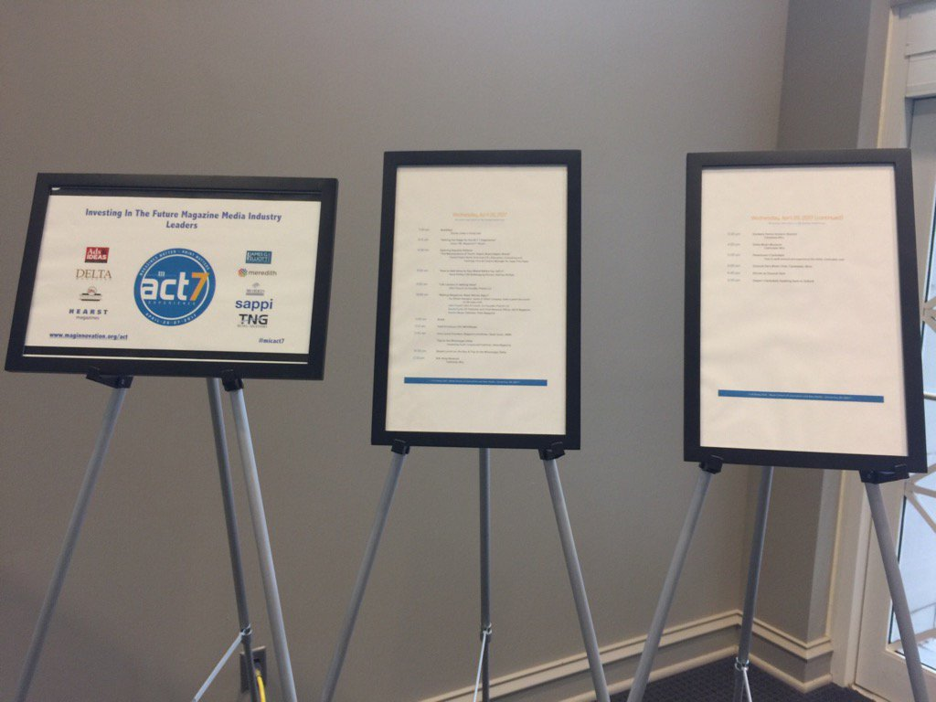 Day 2 of ACT 7 Experience is about to start. Great lineup of speakers. #MICACT7 https://t.co/x3OAgqPoZ5