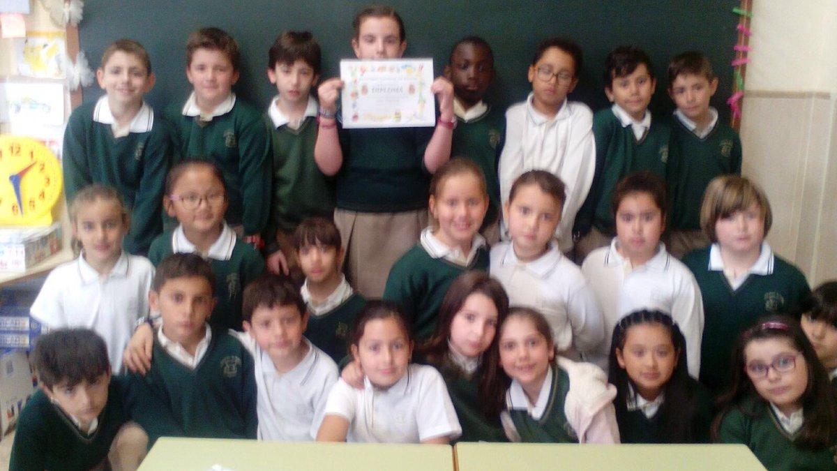 Colegio Altamira on Twitter 3 B de primaria ha sido galardonado