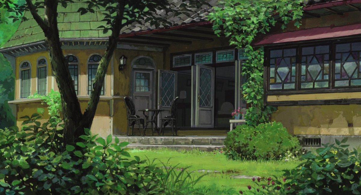 "Animation Backgrounds on Twitter: ""The Secret World of Arrietty (Hiromasa  Yonebayashi, Studio Ghibli - 2010) (ArtD: Noboru Yoshida, Youji Takeshige)…  """