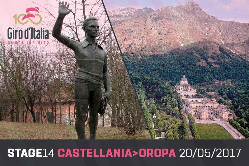 Luca Panichi scalerà Oropa, la montagna di Pantani